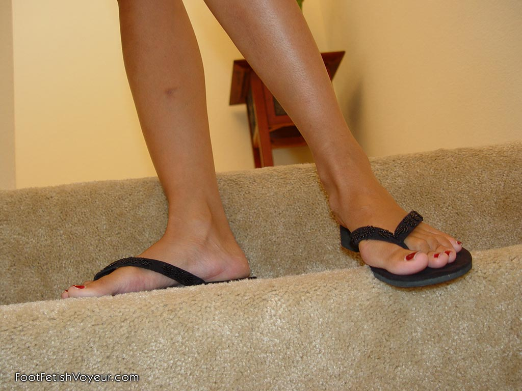 Foot domination scene involving a beautiful Mistress