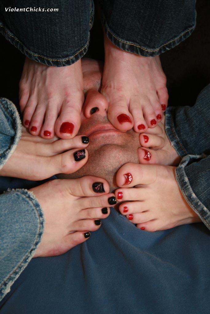 Just a feet slave worshiping feet
